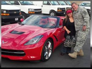 itsbillsmith.com, Mountain View Chevrolet, Red Corvette Stingray