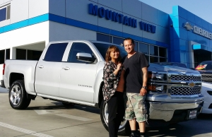 itsbillsmith Mountain View Chevrolet Jocelyn and Eric